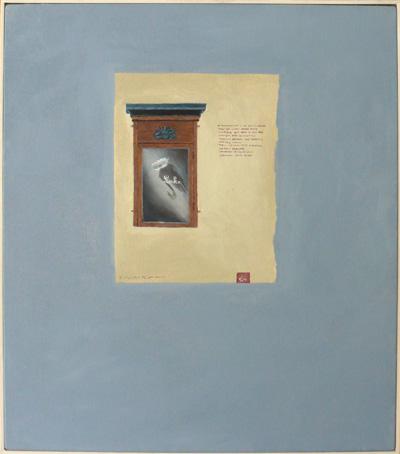 Lake, oil on canvas, 60cm x 50cm